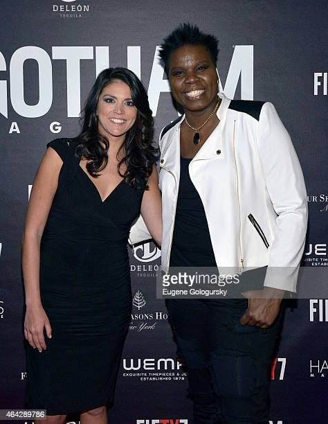 Cecily Strong and Leslie Jones attend the Gotham Hamptons Magazines celebration of Gotham's Spring Issue featuring Saturday Night Live's Cover Stars...