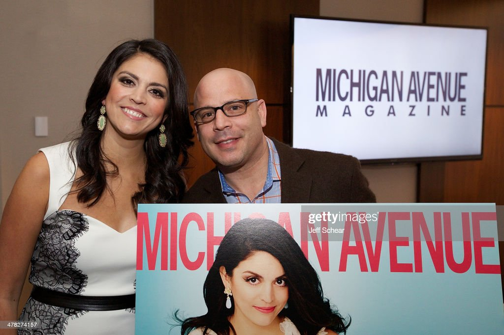 <a gi-track='captionPersonalityLinkClicked' href=/galleries/search?phrase=Cecily+Strong&family=editorial&specificpeople=9951067 ng-click='$event.stopPropagation()'>Cecily Strong</a> and President and Publisher of Michigan Avenue Magazine Dan Uslan attend the Michigan Avenue Magazine Spring Issue release celebration hosted by <a gi-track='captionPersonalityLinkClicked' href=/galleries/search?phrase=Cecily+Strong&family=editorial&specificpeople=9951067 ng-click='$event.stopPropagation()'>Cecily Strong</a> at The Godfrey Hotel on March 12, 2014 in Chicago, Illinois.