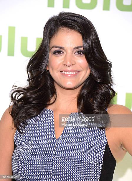 Cecily Strong attend Hulu's Upfront Presentation on April 30 2014 in New York City