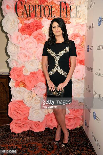 Cecily Strong attends Capitol File's WHCD Weekend Welcome Reception with Cecily Strong at The British Embassy on April 24 2015 in Washington DC