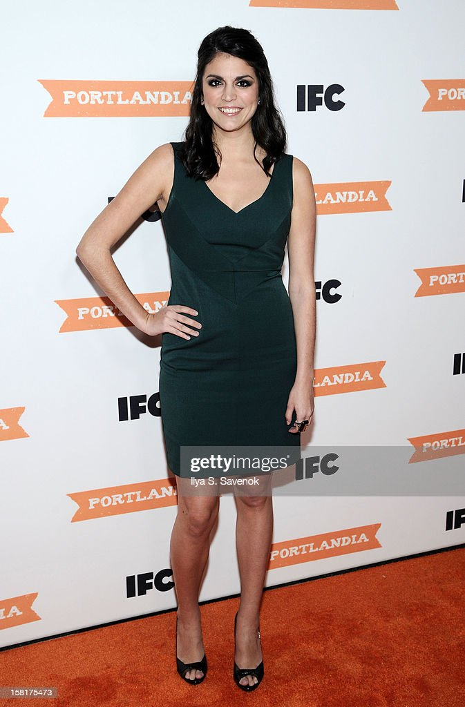 Cecily Strong attends IFC's 'Portlandia' Season 3 New York Premiere at American Museum of Natural History on December 10, 2012 in New York City.