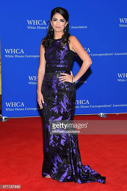 Cecily Strong attends the 101st Annual White House Correspondents' Association Dinner at the Washington Hilton on April 25 2015 in Washington DC