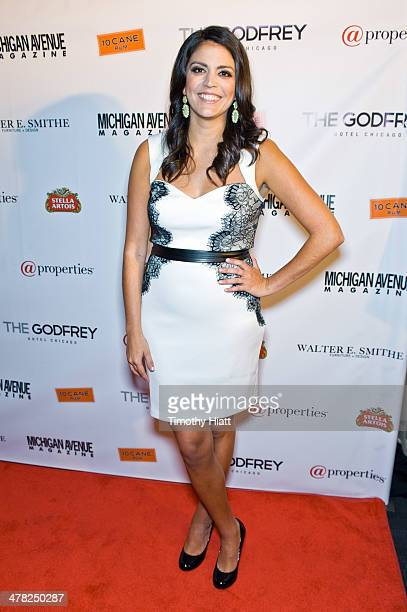 Cecily Strong attends the Michigan Avenue Magazine Spring Issue Celebration at The Godfrey Hotel on March 12 2014 in Chicago Illinois