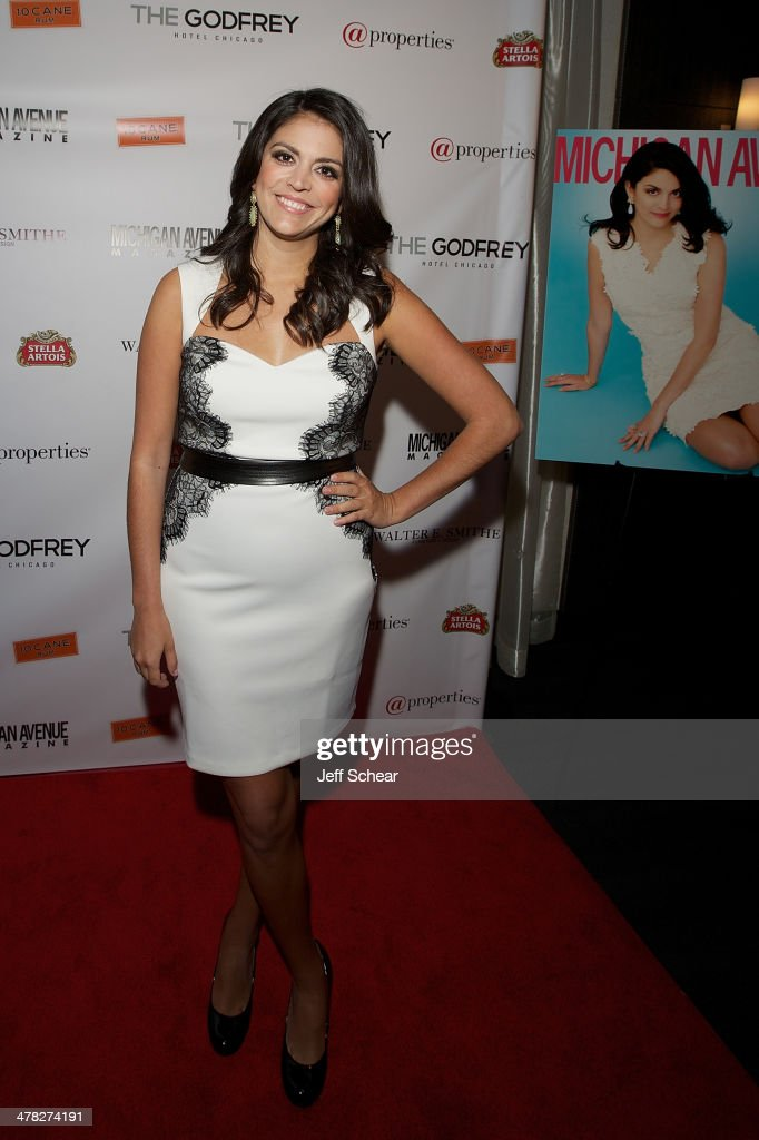 <a gi-track='captionPersonalityLinkClicked' href=/galleries/search?phrase=Cecily+Strong&family=editorial&specificpeople=9951067 ng-click='$event.stopPropagation()'>Cecily Strong</a> attends the Michigan Avenue Magazine Spring Issue release celebration hosted by <a gi-track='captionPersonalityLinkClicked' href=/galleries/search?phrase=Cecily+Strong&family=editorial&specificpeople=9951067 ng-click='$event.stopPropagation()'>Cecily Strong</a> at The Godfrey Hotel on March 12, 2014 in Chicago, Illinois.