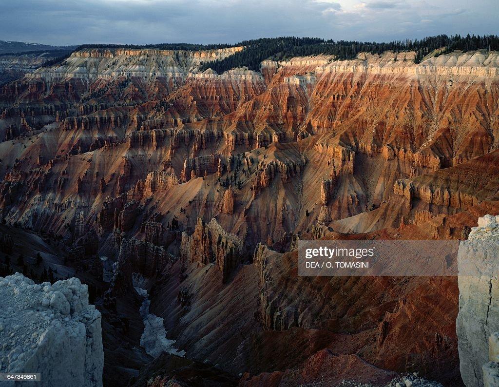Cedar Breaks National Monument natural amphitheater Utah United States of America