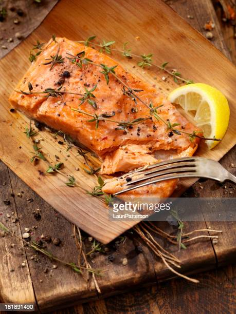 Cedar Wrapped Salmon