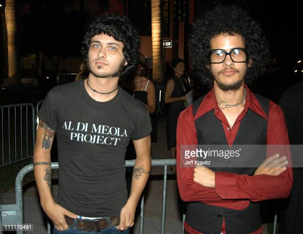 Cedric BixlerZavala and Omar RodriguezLopez of the Mars Volta