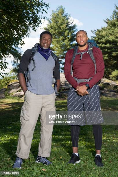 Cedric Ceballos and Shawn Marion retired NBA stars from Glendale CA and Chicago IL on the 30th season of THE AMAZING RACE will premiere during the...