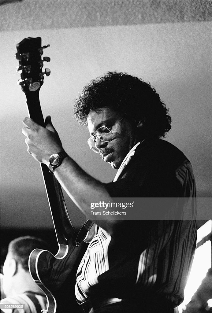 Cedric Dandare, guitar, performs at the Meander on 30th June 1997 in Amsterdam, Netherlands.