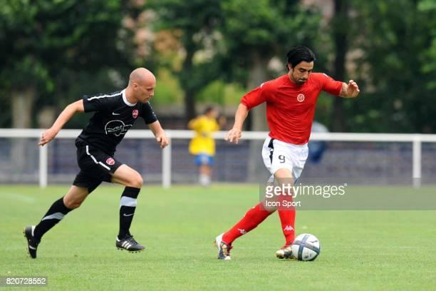 Cedric FAURE Valenciennes / Reims Match amical a Chauny