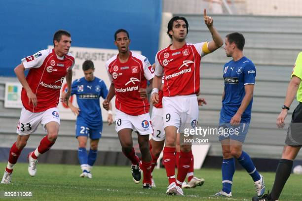 Cedric FAURE Reims / Libourne Saint Seurin 2eme journee de Ligue 2
