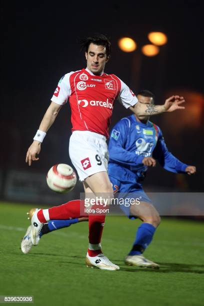 Cedric FAURE Creteil / Reims 31 eme journee de Ligue 2