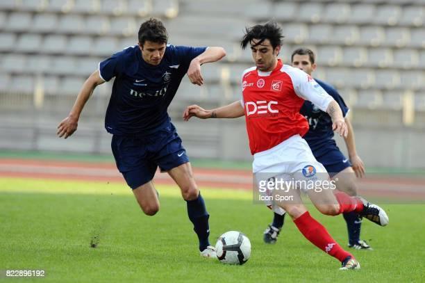 Cedric FAURE Paris FC / Reims 32e journee National