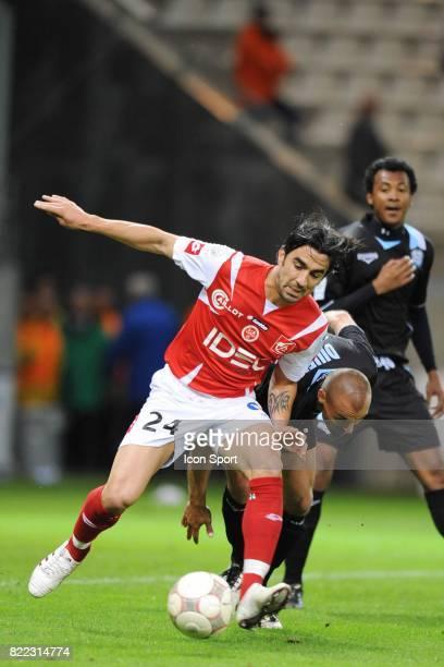 Cedric FAURE Reims / Tours 36 eme journee de Ligue 2 Stade Auguste Delaune Reims