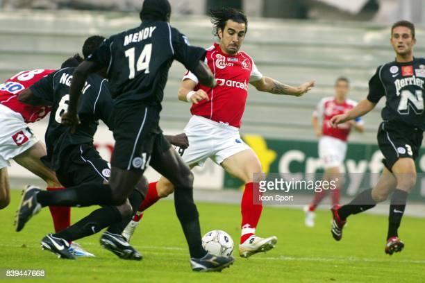 Cedric FAURE Reims / Montpellier 5e journee Ligue 2