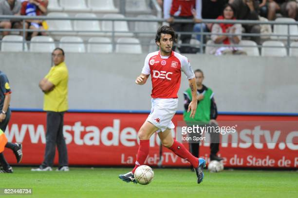 Cedric FAURE Reims / Troyes 4eme journee de Natioanl Stade Auguste Delaune Reims