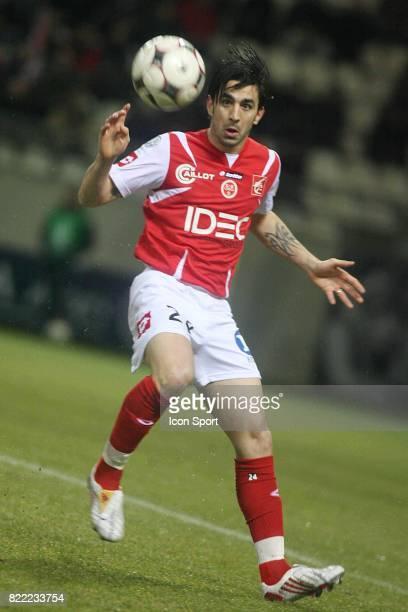 Cedric FAURE Reims / Strasbourg 19eme journee de Ligue 2