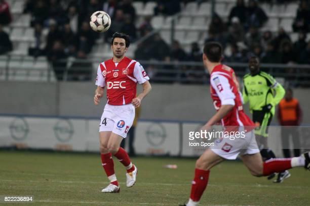 Cedric FAURE Reims / Guingamp 21 eme journee de Ligue 2