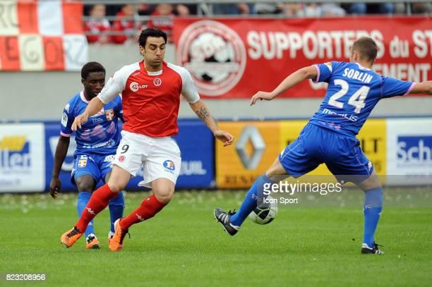 Cedric FAURE / Olivier SORLIN Reims / Evian Thonon 37e journee Ligue 2