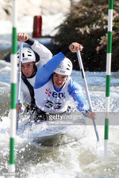 Cedric FORGIT / Martin BRAUD Selection Olympique Francaise Canoe Kayak Slalom La Seu D Urgell