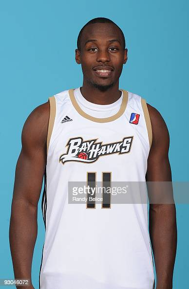 Cedric Jackson of the Erie BayHawks poses for a portrait during the team's 200910 Media Day on November 13 2009 at LECOM Medical Fitness and Wellness...