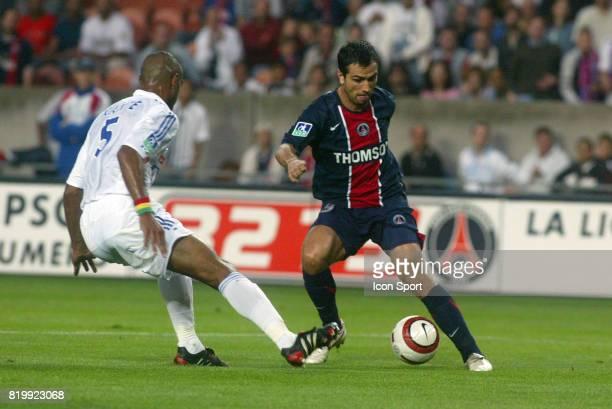 PAULETA / Cedric KANTE PSG / Strasbourg 7e Journee de Ligue 1 Parc des Princes
