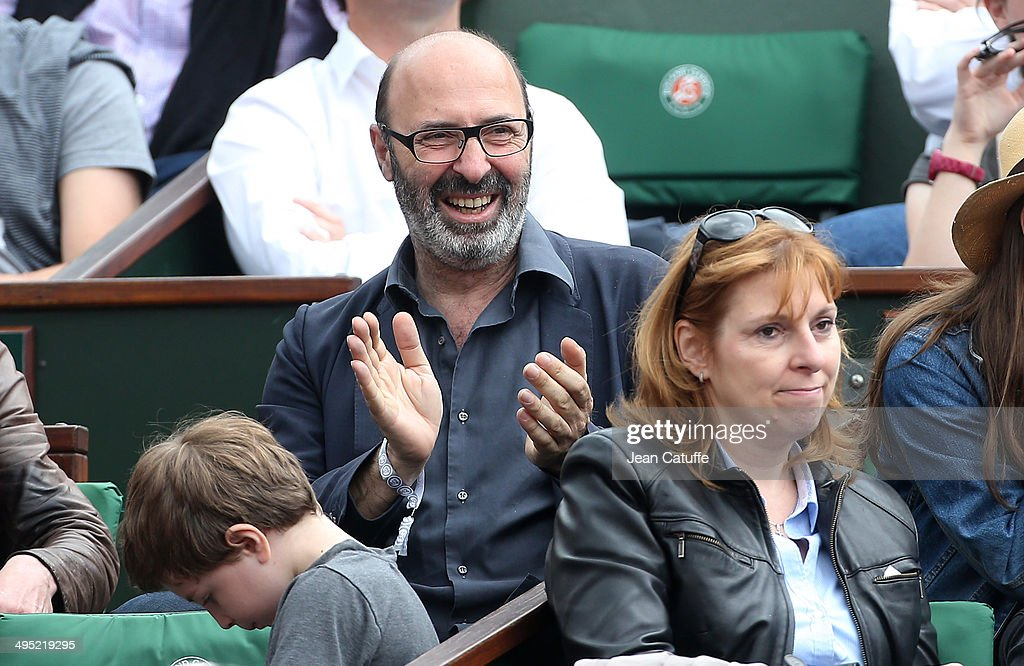 Cedric Klapisch attends Day 8 of the French Open 2014 held at Roland-Garros stadium on June 1, 2014 in Paris, France.