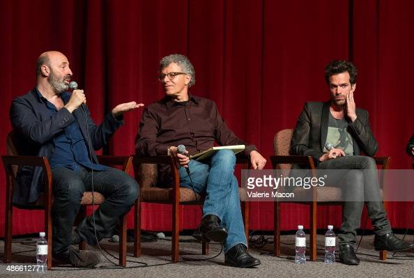 Cedric Klapisch Jon Amiel and Romain Duris attend 18th Annual City Of Lights City Of Angels Film Festival at Directors Guild Of America on April 24...