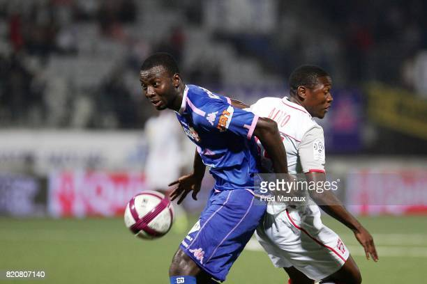 Cedric MONGONGU / Paul ALO O EFOULOU Nancy / Evian Thonon 9e journee Ligue 1