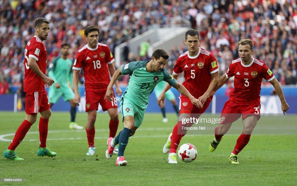 Russia v Portugal: Group A - FIFA Confederations Cup Russia 2017