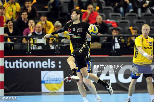 Cedric PATY Chambery / Vive Targi Kielce Ligue des Champions Phare Chambery