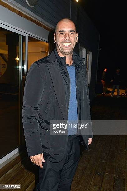 Cedric Pioline attends the 'Tee Break Gourmand' Auction Golf Competition hosted by Matrix to benefit SOS Gazelles at the Golf d' Etiolles on October...
