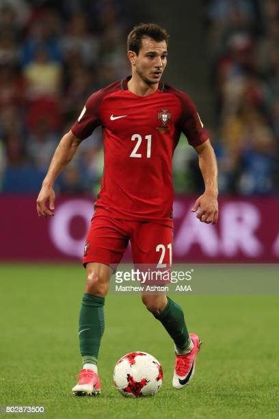 Cedric Soares of Portugal in action during the FIFA Confederations Cup Russia 2017 SemiFinal match between Portugal and Chile at Kazan Arena on June...