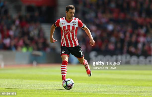 Cedric Soares of Southampton during the Premier League match between Southampton and Hull City at St Mary's Stadium on April 29 2017 in Southampton...