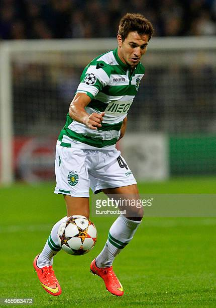 Cedric Soares of Sporting Clube de Portugal in action during the UEFA Group G Champions League football match between NK Maribor and Sporting Lisbon...