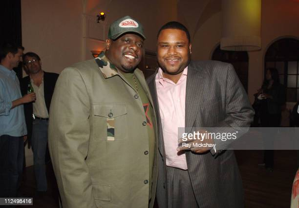 Cedric the Entertainer and Anthony Anderson during 'King's Ransom' Los Angeles Premiere After Party at Hollywood Athletic Cluv in Hollywood...