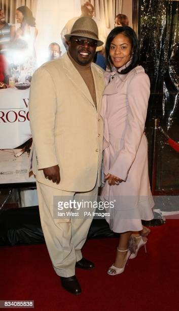 Cedric the Entertainer and his wife Lorna arrive at the premiere of Welcome Home Roscoe Jenkins at the Grauman's Chinese Theatre Los Angeles
