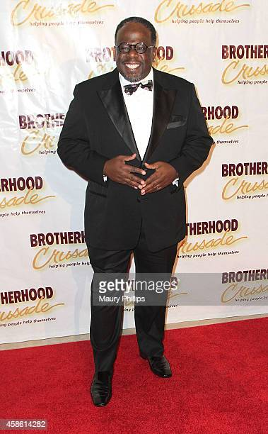 Cedric the Entertainer arrives at the 46th Annual BremondBakewell Pioneer of African American Achievement Awards Gala at The Beverly Hilton Hotel on...