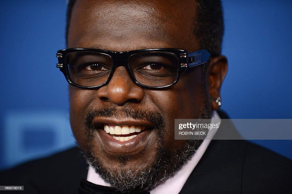 Cedric The Entertainer arrives at the 65th annual Directors Guild Of America Awards held February 2, 2013 at the Grand Ballroom at Hollywood & Highland in Hollywood, California. AFP PHOTO / Robyn Beck