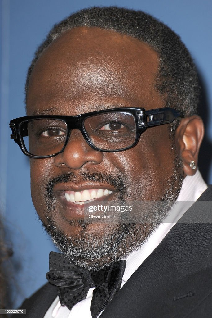 Cedric the Entertainer arrives at the 65th Annual Directors Guild Of America at The Ray Dolby Ballroom at Hollywood & Highland Center on February 2, 2013 in Hollywood, California.