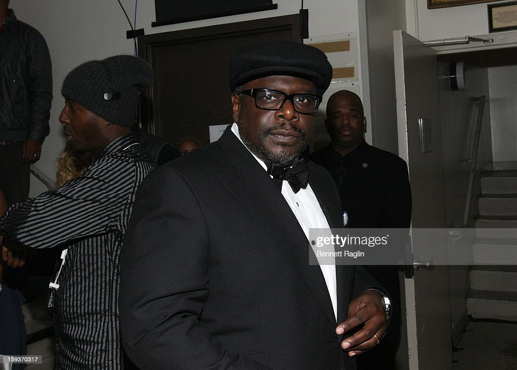 Cedric the Entertainer attends BET Honors 2013: Backstage at Warner Theatre on January 12, 2013 in Washington, DC.