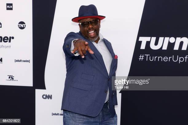 Cedric the Entertainer attends the 2017 Turner Upfront at Madison Square Garden on May 17 2017 in New York City