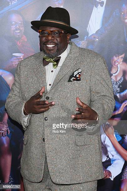 Cedric The Entertainer attends the 'Top Five' New York Premiere at Ziegfeld Theater on December 3 2014 in New York City