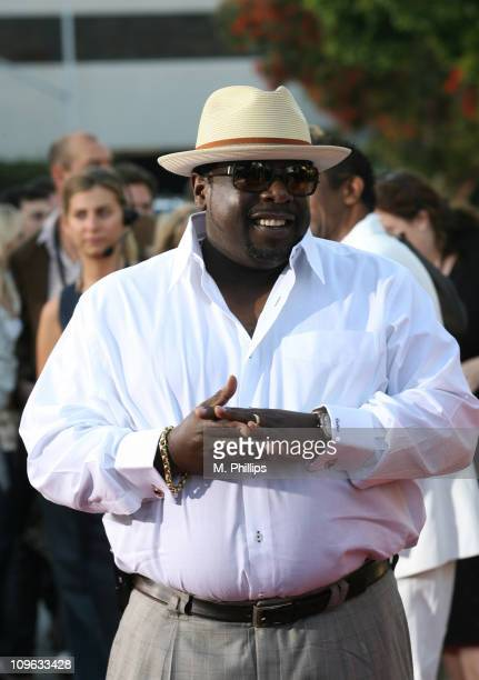 Cedric The Entertainer during 2007 Los Angeles Film Festival 'Talk To Me' Screening at Mann Village Theatre in Los Angeles California United States