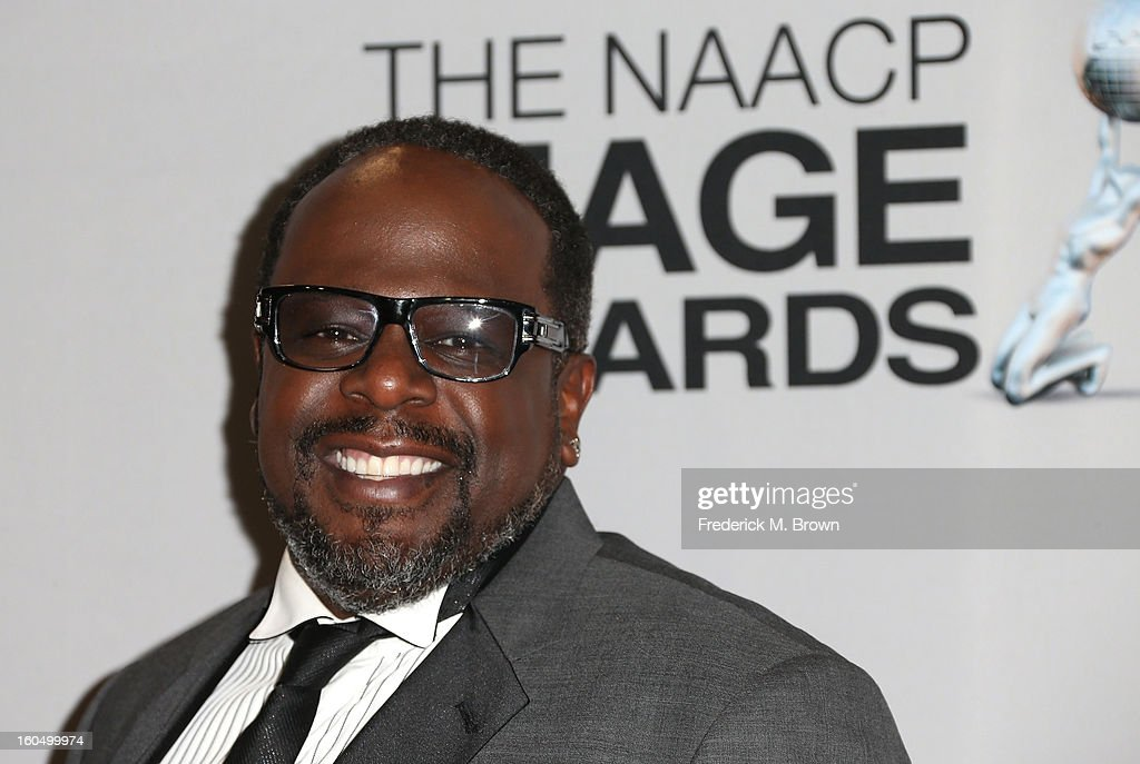 <a gi-track='captionPersonalityLinkClicked' href=/galleries/search?phrase=Cedric+the+Entertainer&family=editorial&specificpeople=210583 ng-click='$event.stopPropagation()'>Cedric the Entertainer</a> poses in the press room during the 44th NAACP Image Awards at The Shrine Auditorium on February 1, 2013 in Los Angeles, California.