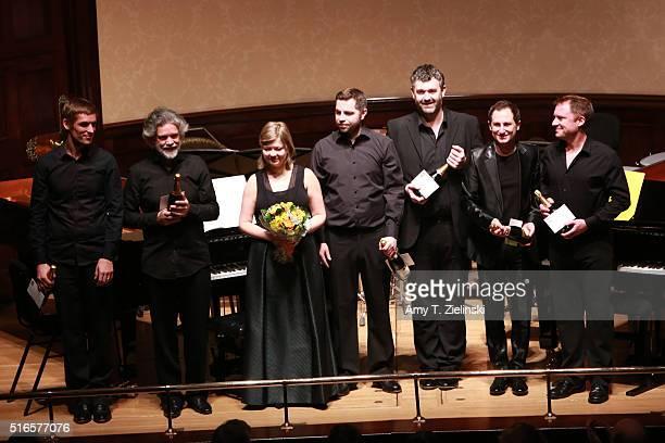 Cedric Tiberghien on piano FrancoisFrederic Guy on piano Alina Ibragimova on violin Sam Walton on percussion Matthew Hunt on clarinet Antoine...