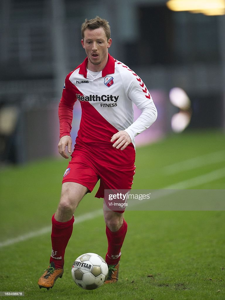 Cedric van der Gun of FC Utrecht during the Dutch Eredivisie match between FC Utrecht and RKC Waalwijk at the Galgenwaard on march 10, 2013 in Utrecht, The Netherlands
