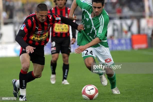 Cedric VARRAULT / Loic PERRIN Nice / Saint Etienne 32e journee Ligue 1