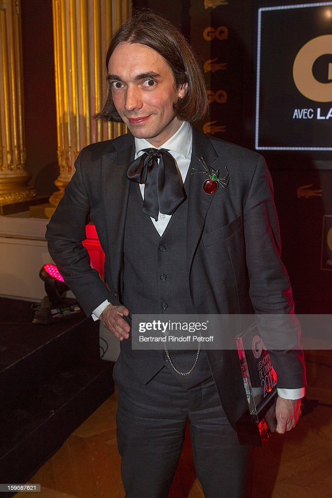 Cedric Villani attends the GQ Men of the year awards 2012 at Musee d'Orsay on January 16, 2013 in Paris, France.