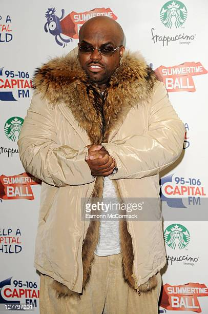 Cee Lo Green attends Capital Radio Summertime Ball at Wembley Arena on June 12 2011 in London England